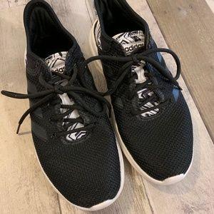 Adidas Cloud Foam QT Flex DA9528 Black & White 6.5
